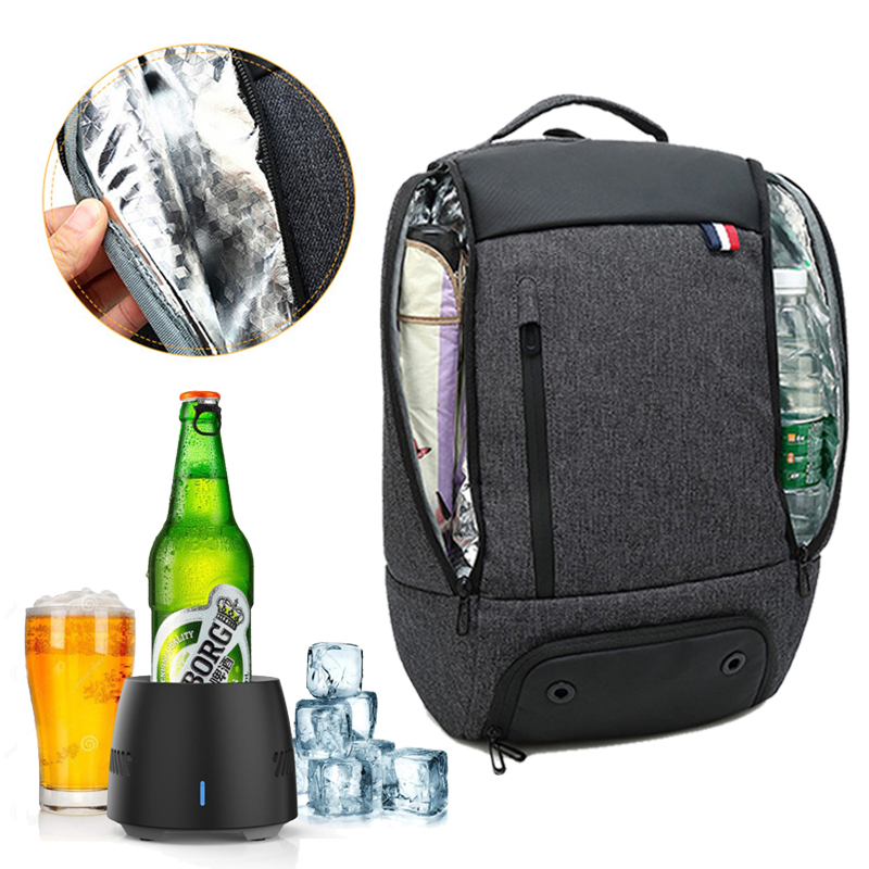 Food Drink Cooler Bag Backpacks Large Capacity Keep Cold Warm Bags Travel Backpack Family Lunch Picnic Camping Waterproof Bags