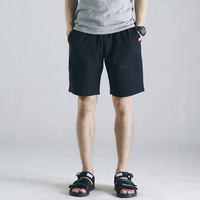 Summer 2017 New High End Men S Beach Shorts Simple Solid Color Casual Pants Male Bodybuilding