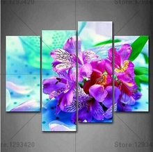 New 5D DIY Diamond Embroidery Orchid & stone Full Square Rhinestones Sets Painting Mosaic Cross Stitch Wall Decor 4Pcs