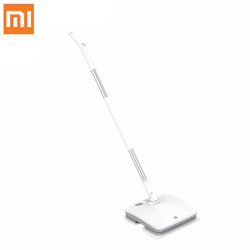 Xiaomi SWDK-D260 Sans Fil Balai Électrique Aspirateur Vibrations Laveur D'essuie-Glace Rondelles Humide Essuyage Robot avec LED Lumière