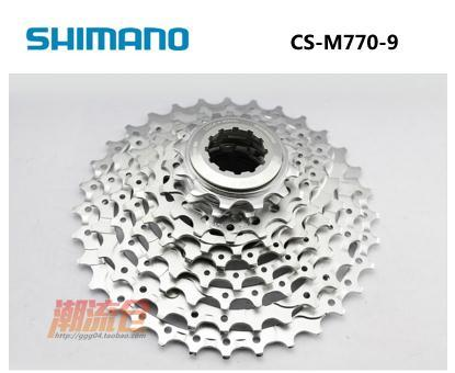 030227cb669 SHIMANO DEORE XT CS-M770 Cassette 9s MTB bicycle bike freewheel Cassettes  CS M770