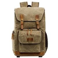 SLR DSLR Large Capacity Camera Backpack Rucksack Waterproof Front Open Bag Accessories Travel Professional Canvas Lens Storage