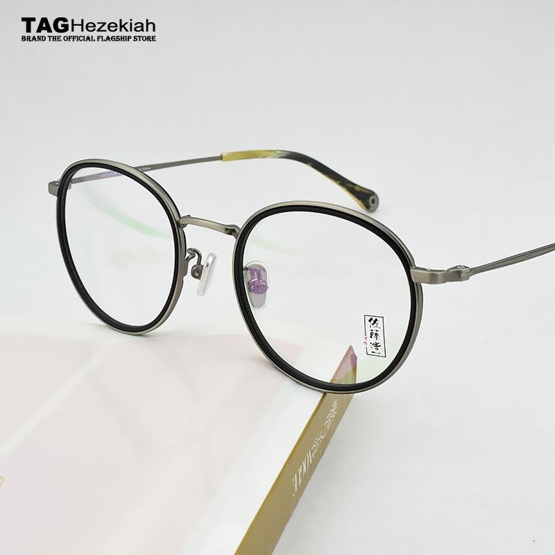2018 NEW round glasses frame men women designer limited edition retro Computer myopia Goggles Eyeglass frame