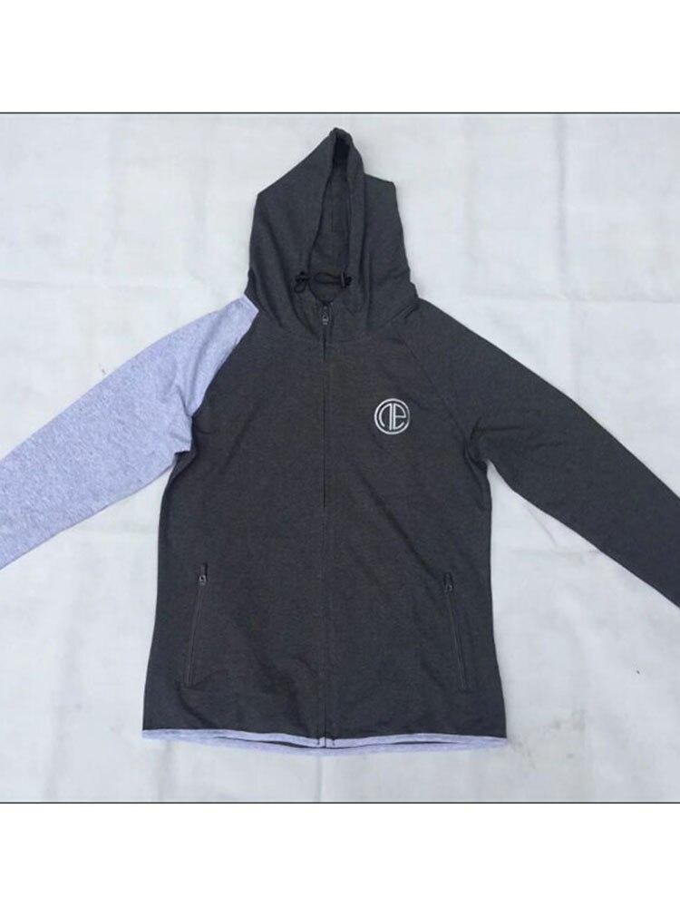 2017Men sweatshirt hoodie Hip Hop Mens fesyen Brand Leisure Zipper - Pakaian lelaki - Foto 6
