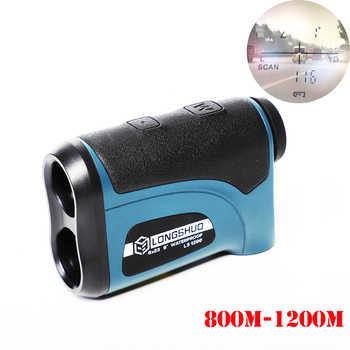 Laser-entfernungsmesser Jagd 800m 1200m Teleskop Laser Abstand Meter Golf Digitale Monokulare Palette Finder Winkel messen werkzeug