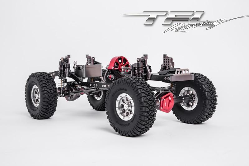 TFL SCX10 série métal escalade voiture 313305 empattement POUR voitures rc Avec RC4WD moteur/ESC/servos