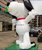 3 м Пользовательские Горячая Распродажа, надувной собака надувные мультфильм, надувные воздушные шары с персонажами для рекламы