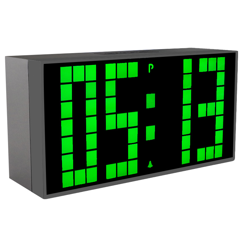 Led-wekker Digitale elektronische bureauklok Desktoptimer Kalenders Kantoor Elektronische Relogio De Mesa Reloj digitale horloge