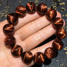 100% Natural Brazil Red Tiger Eye Gemstone Round Beads Bracelet 14mm For Women Men Strong Cat Crystal Drop Shipping AAAAA