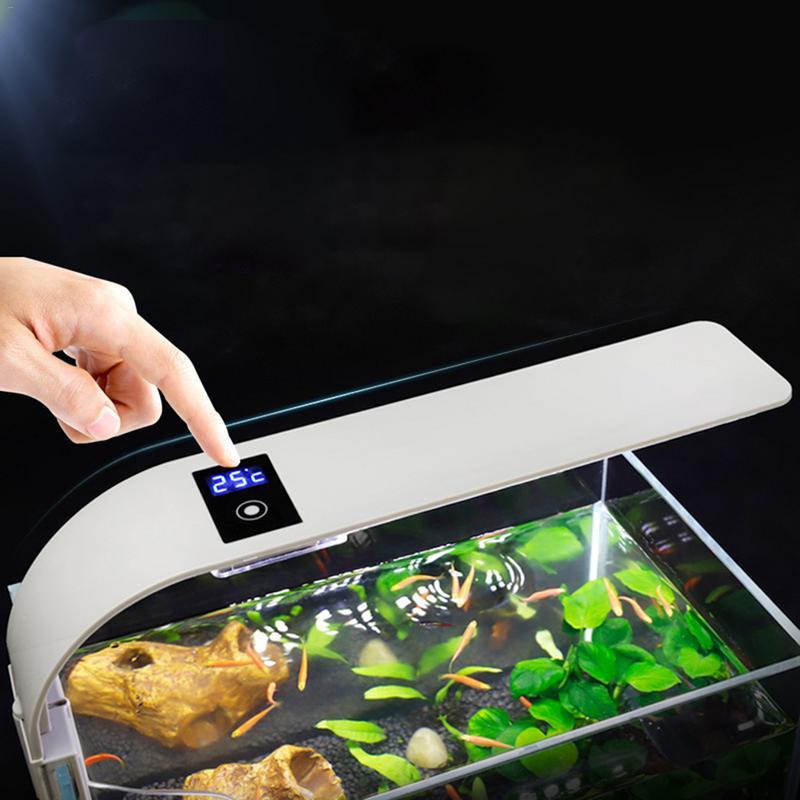 Ultra-thin LED Aquarium Light Aquarium Light 5W / 10W / 15W Plant Growth Light Aquarium Landscape Waterproof Clip Light