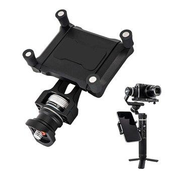 Smartphone Holder Mount Bracket Clamp Clip Holder Adapter for Feiyu SPG2 G6 Plus Action Camera Stabilizer Gimbal