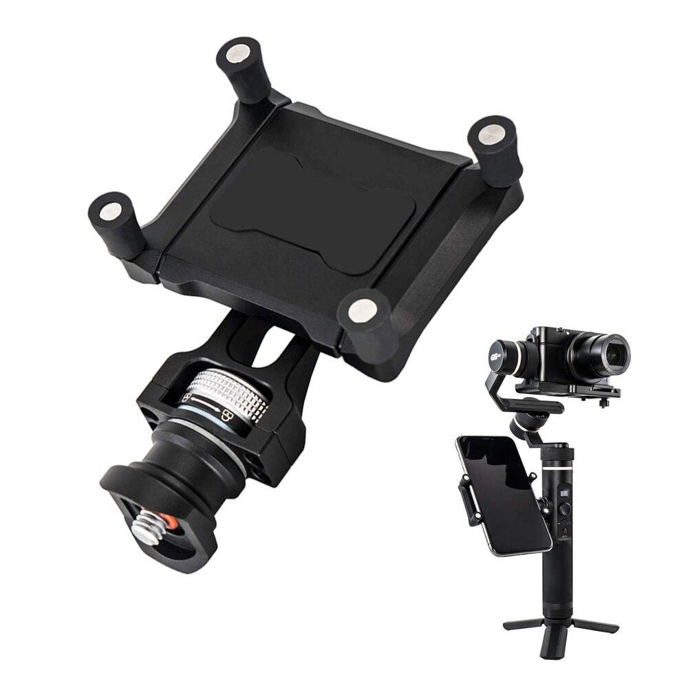 Support de smartphone support de montage pince clip de fixation adaptateur pour Feiyu SPG2 G6 Plus Action caméra stabilisateur cardan