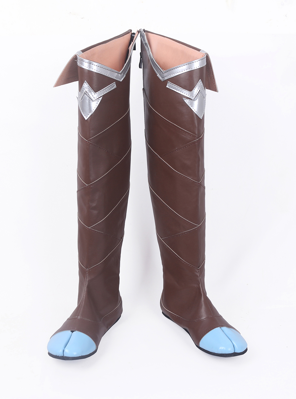 LOL Xayah The Rebel Cosplay Long Boots Shoes (2)