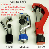 Stainless Steel Corrugated Pipe Cutting Knife Tube Cutter