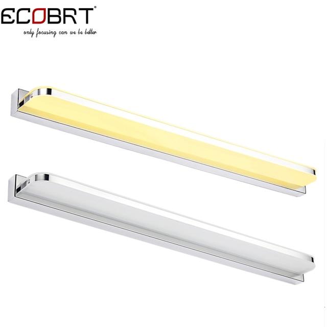 ECOBRT #5960R 20W 92cm Long LED Light Bathroom Wall Mounted Mirror ...