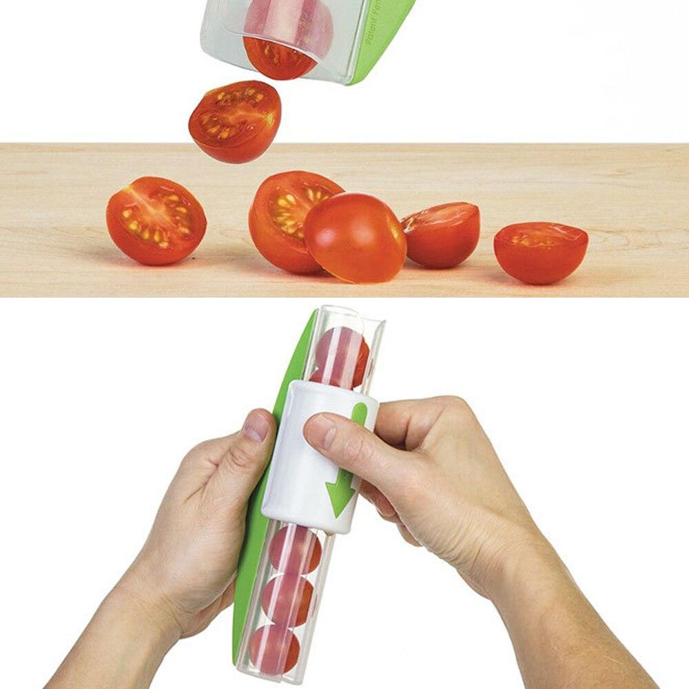 Küchenhelfer Obst Griffe Trauben Tomatenschneider Gemüse Obst Cutter ...