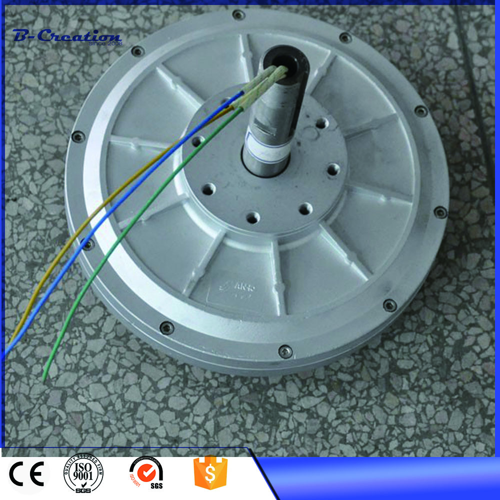 1kw 180RPM coreless Low RPM start wind speed Three Phase PMG Permanent Magnet Generator 300w 350w 150 200 250 400rpm 24v 48vdc low speed low start up for diy permanent magnet coreless generator alternator