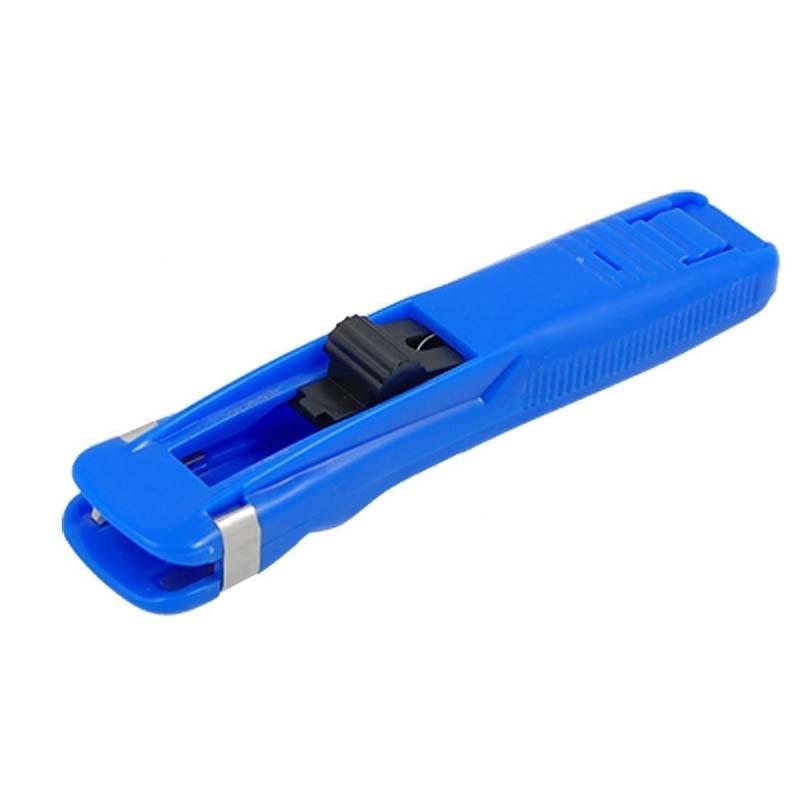 Blue Plastic Handheld Medium Size Fast Clam Clip Dispenser