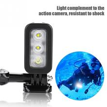 Underwater Diving Video Camcorder LED Filling Lamp Light  Re