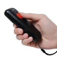Scanhero Tasche Drahtlose Bluetooth Barcode Scanner Laser Tragbare Reader Rot Licht CCD für IOS Android Windows