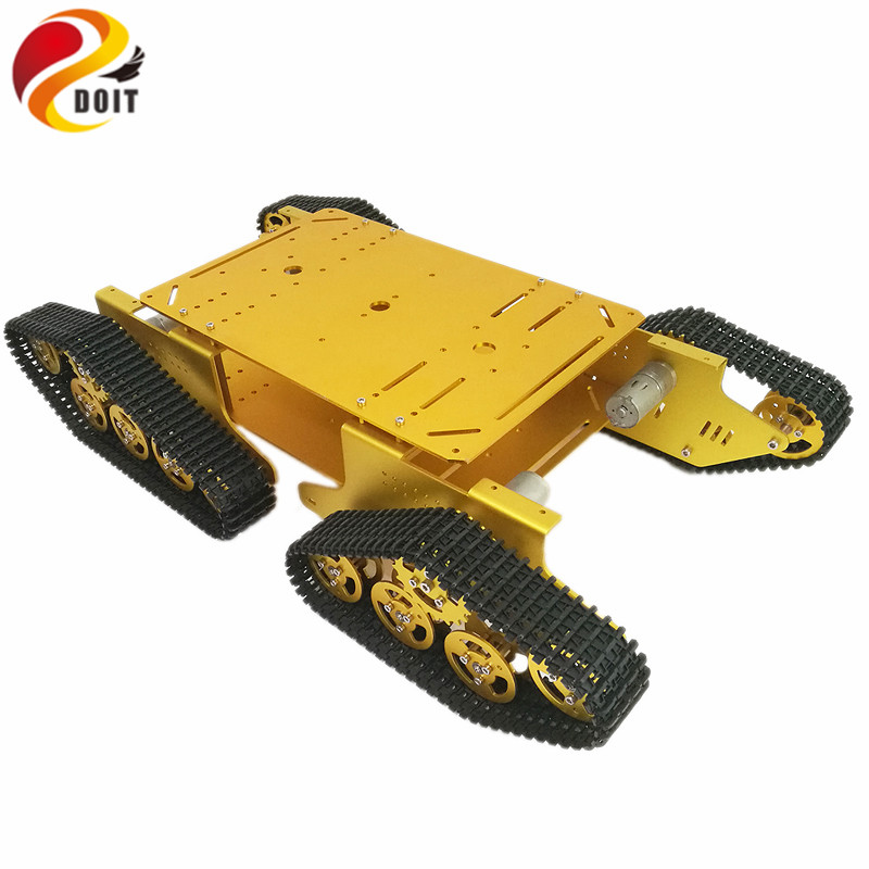 Official DOIT Caeser TD WD Tracked Metal Tank Car Chassis Smart Robot