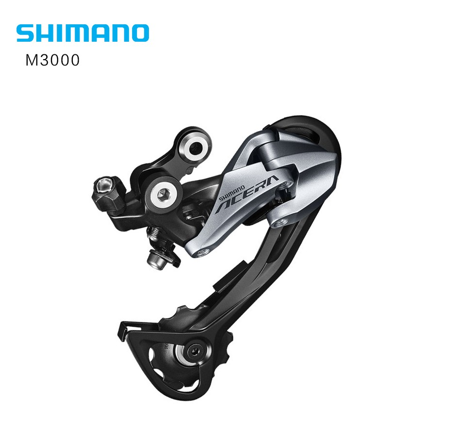 Shimano Alivio Rd-m4000 9 Speed Mountain Bike Shadow 9-speed Rear Derailleur Update From M430 Beautiful And Charming Bicycle Derailleur
