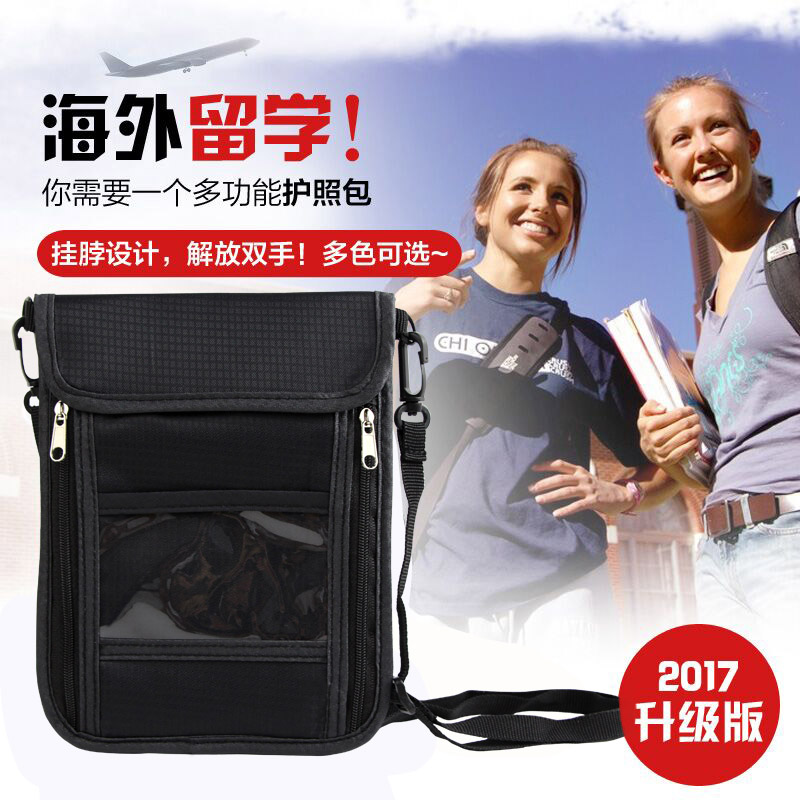 Passport Covers Holder Card Package Credit Card Holder Wallet Organizer Travel Accessories Document Bag Cardholder Crossbody Bag