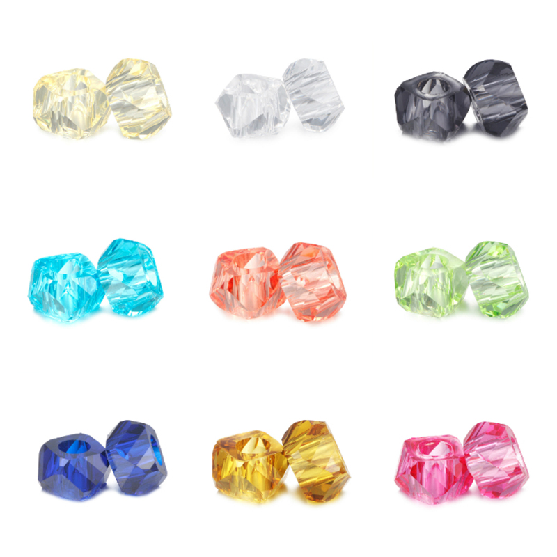 HOMOD Retail Fashion 12 Colors  Resin Beads Fits Pandora Charms Brand Bracelets & Necklaces For DIY Women Jewerly