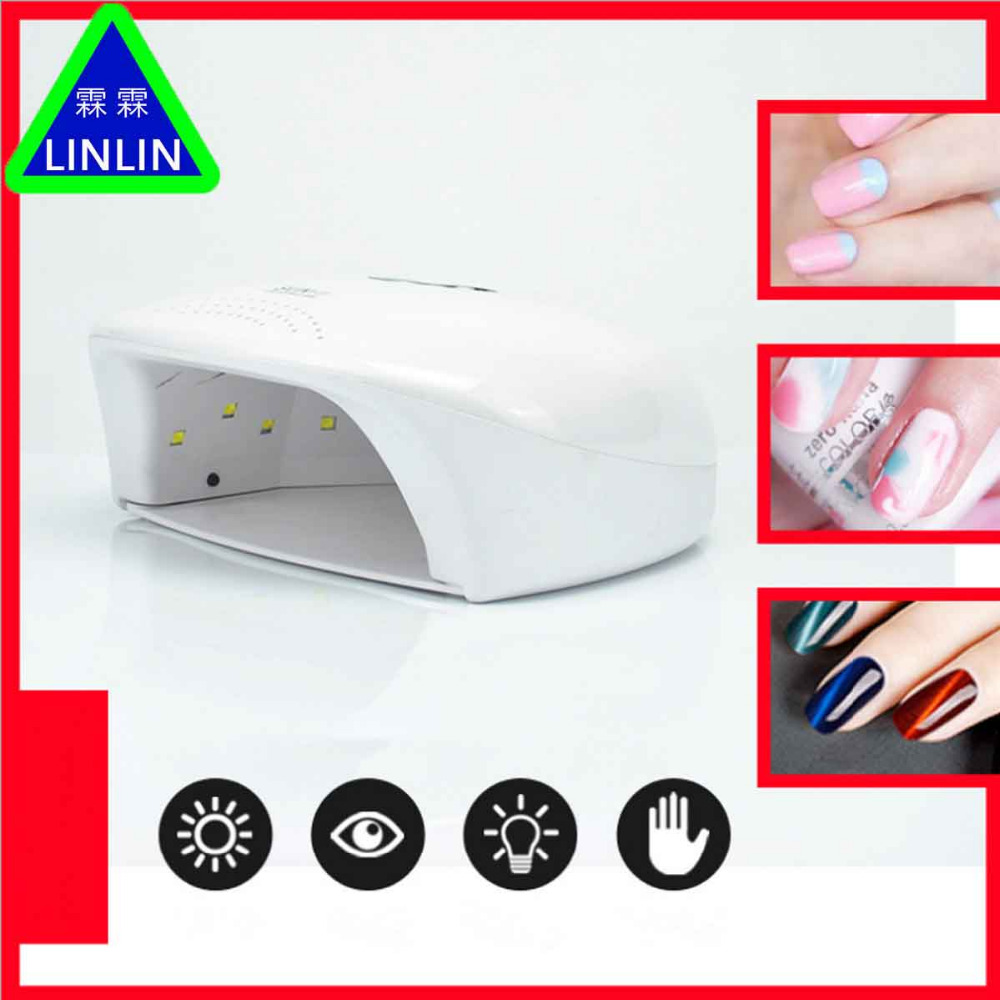 LINLIN New SUN X20 phototherapy lamp 48W high efficiency intelligent induction nail lamp fast nail polish baking lamp Massage