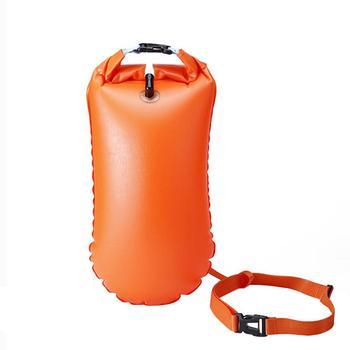 PVC Impermeável Dry Bag Natação Mochila Kayak Rafting Camping Caminhadas Mochila Saco de Flotação Inflável Bóia Salva-vidas À Deriva