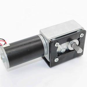 Image 5 - Micro motor reversível da caixa de engrenagens do sem fim do turbocompressor do torque alto do sem fim do motor da redução da engrenagem da c.c. 12v mini