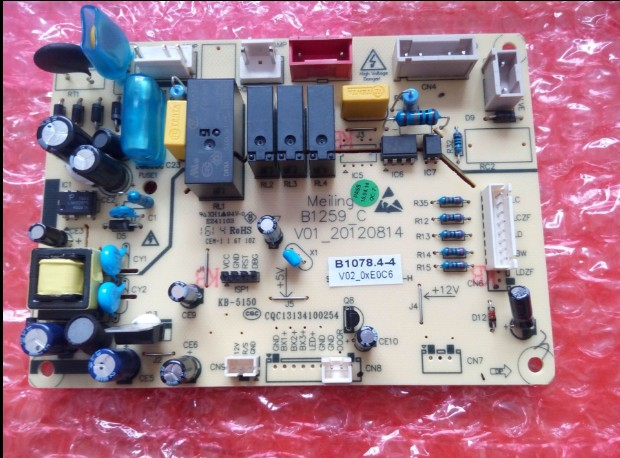 100%New/BCD-350W 350WE 356WET /B1078.4-4 refrigerator circuit board for Meiling