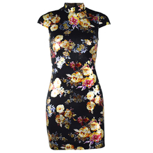 FREE SHIPPING !! Metallic Floral Bodycon Sexy Backless Lace Up Mini Party Dress JKP1040
