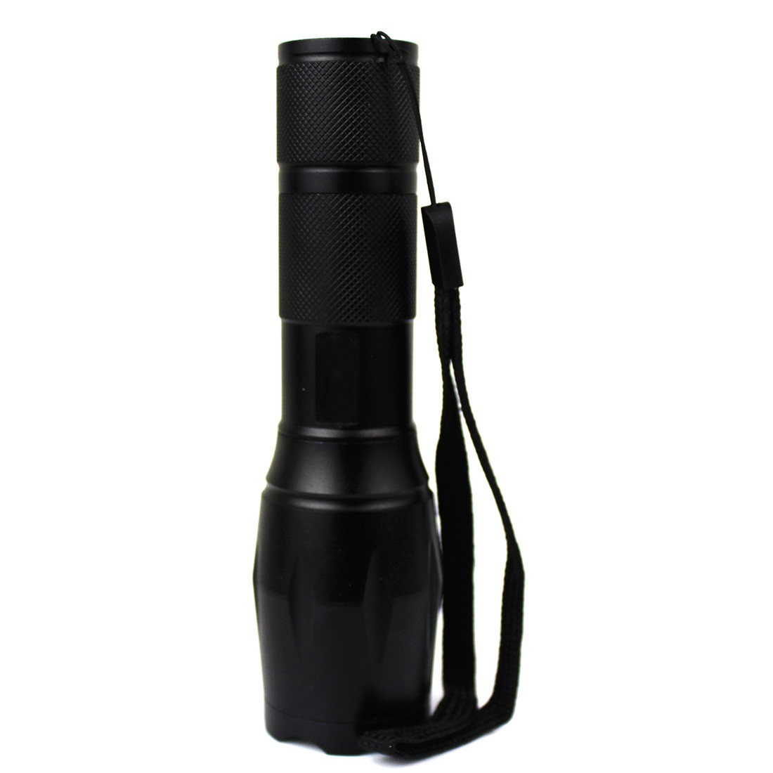 T6 2000LM Aluminum Waterproof Zoomable LED Flashlight Torch Light Torch Eu/US Charger Battery