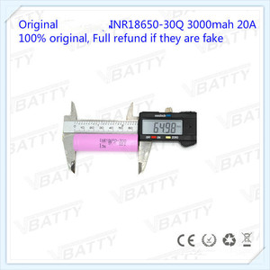 Image 5 - オリジナル 18650 バッテリー仕様 3000 mah 18650 30Q 3.7 v リチウムイオン充電式バッテリー (1 pc)