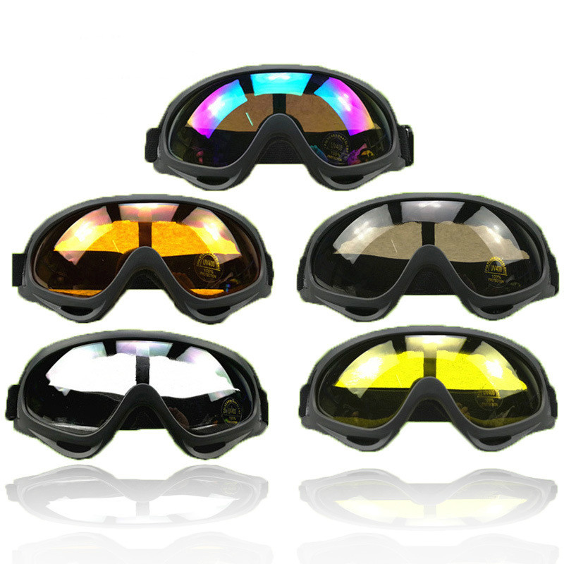 X400 Classic Style Tactical Soft Paintball Explosion Proof Shock Resistant Protective Goggles For Paintball Game Outdoor Cs