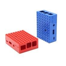 Новинка 1 шт. красный/синий защитный чехол с отверстием камеры для Raspberry Pi 3 Модель B