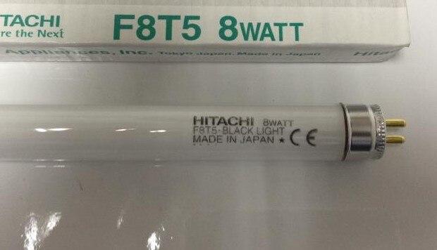 HITACHI F8T5 BLACK LIGHT 8W 8 WATT fluorescent lamp tube ...