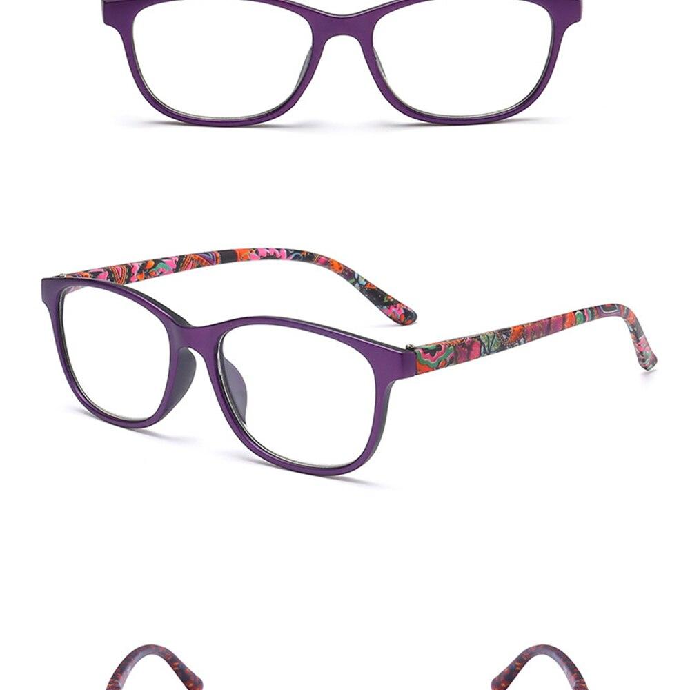 VEGA Eyewear Funky 220.20 Reading Glasses Clear Lenses Designer Reading Eye  Glasses Retro Pattern Eyeglasses Presbyopic VG28220