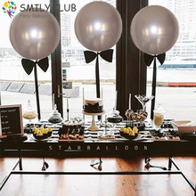 20pcs 18inch Metallic Balloon Wedding Ballons Happy Birthday Balloon Latex Metal Macaron Balloons Air Balon Helium Baloon Number