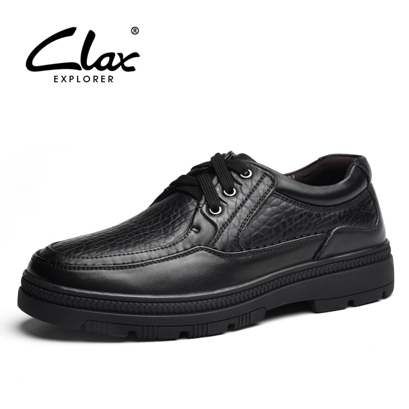 CLAX Mens Formal Shoes Genuine Leather 2019 Spring Autumn retro Leather dress Shoes Male Bussiness office Footwear Soft luxuryCLAX Mens Formal Shoes Genuine Leather 2019 Spring Autumn retro Leather dress Shoes Male Bussiness office Footwear Soft luxury