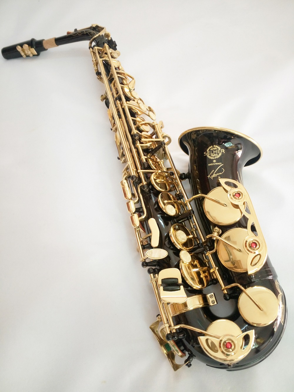Instruments High Quality Saxophone Alto Sax Selmer 54 alto saxophone Musical Instruments Professional E flat Alto Saxophone selmer of france b flat tenor sax instruments shipping professional performance suitable for beginners