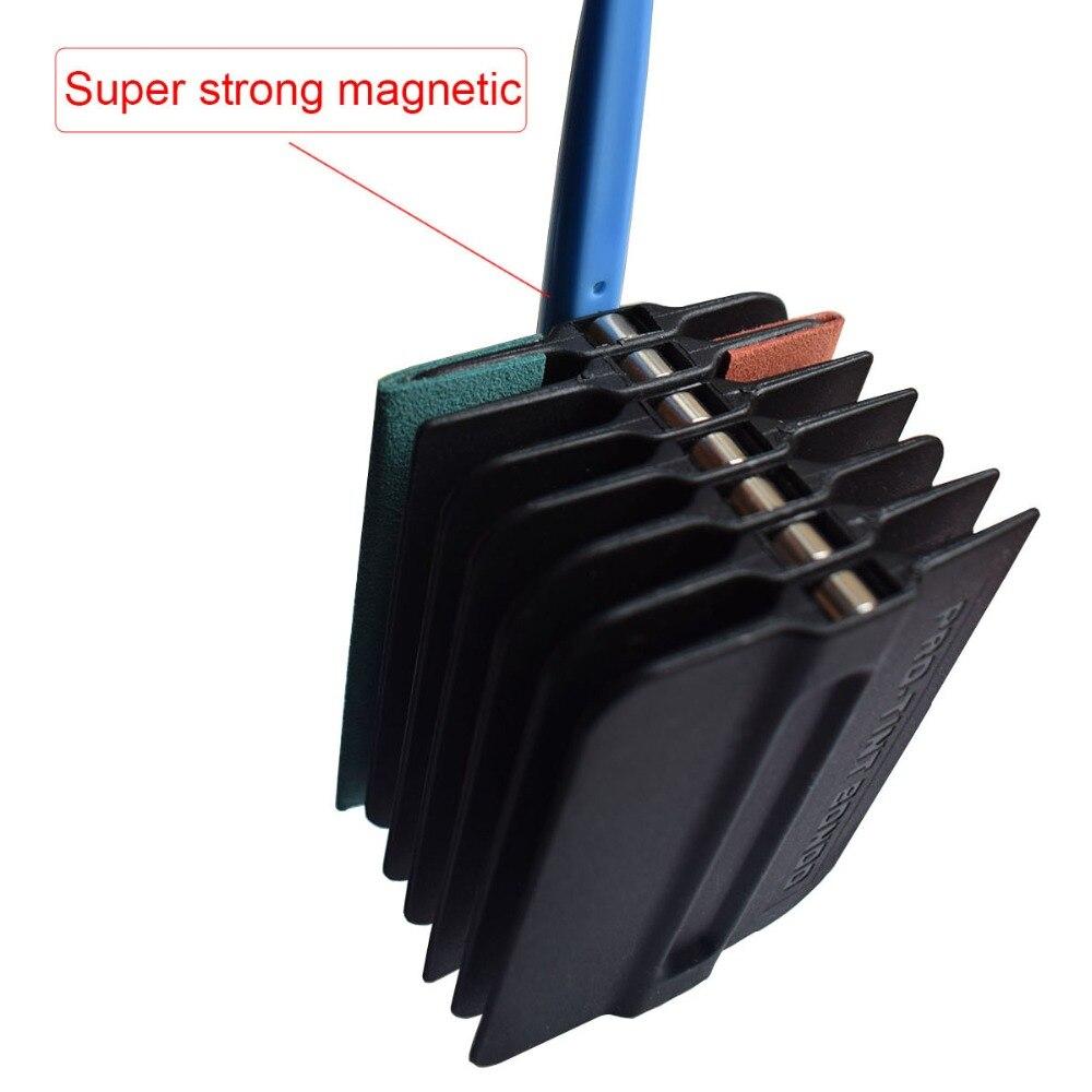 Auto fenêtre teinte feuille de carbone Film support magnétique couteau de coupe vinyle Wrap raclette magnétique voiture outils de style accessoires Kit K93 - 5