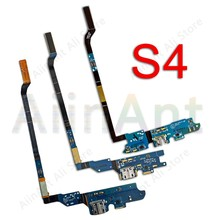 USB DATE Charger Connector Port Dock Charging Flex Cable For Samsung Galaxy S4 i9500 i9505 E300L E300S E300K Repair Phone Part(China)