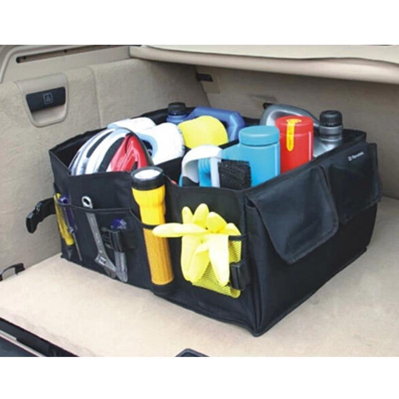 Folding Car Storage Box Trunk Bag Toolbox