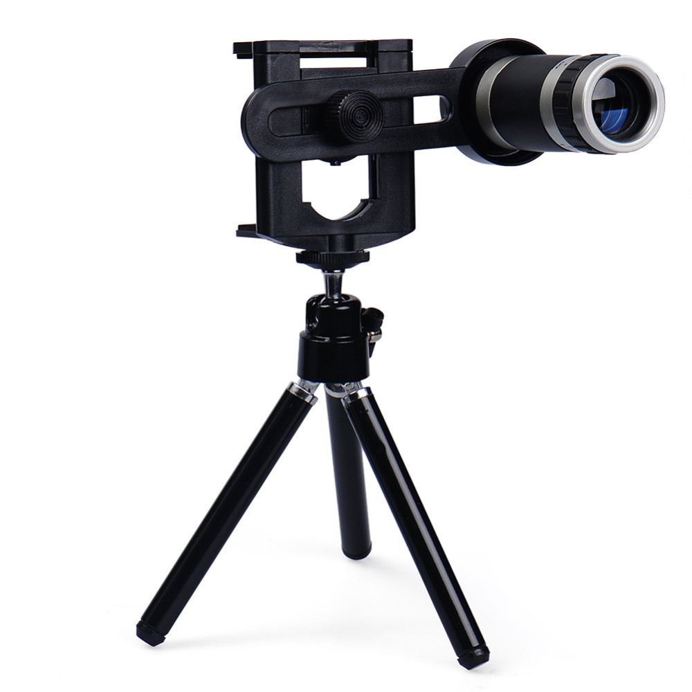 Mobile Phone Lens Universal 8X Zoom Telescope Camera Telephoto Lenses for iPhone 4 4S 5 5C 5S 6 Plus Samsung Galaxy S3 S5 Note 4 1