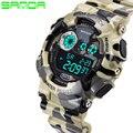 Choque dos homens Luxo Quartzo Analógico Digital Homens Relógio G Estilo SANDA Esportes Militares Relógios 2016 Nova Marca de Moda À Prova D' Água relógio