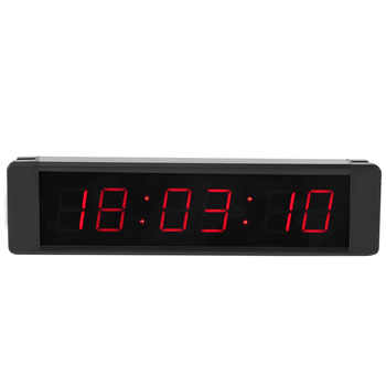 1 Set Training Clock LED Remote Wall Clock prescise Timer Stopwatch Remote Control Timer for Fitness Training