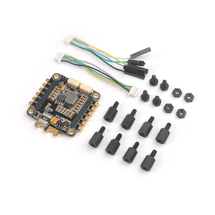 купить BS430 ESC 30A 3-6S 4 in 1 BLHeli-S firmware Dshot 4x30A F3 F4 Fly-tower Speed Controller for FPV Camera Drone Quadcopter F21084 онлайн
