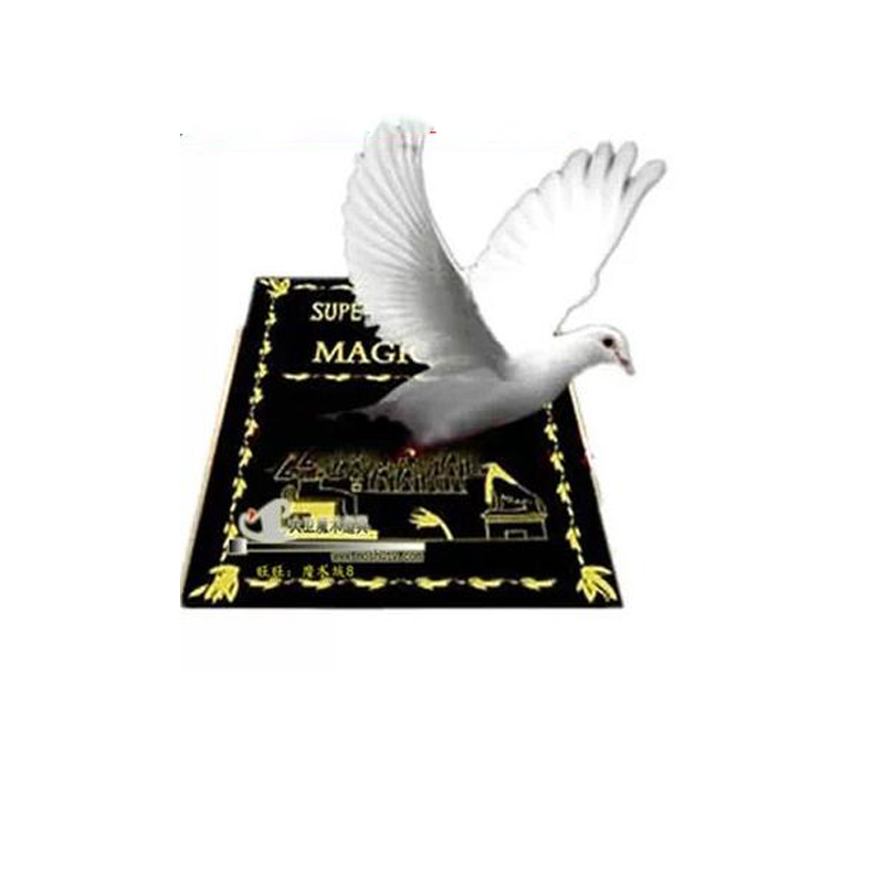 Tamaño grande 28cm * 20cm * 3cm Metamopho Dove From Book Stage o Platform Magic Tricks apoyos mago profesional magia ilusión 83029